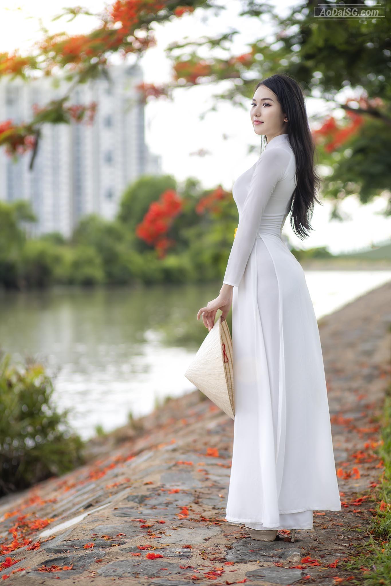 Chup hinh Ao Dai Hoa Phuong